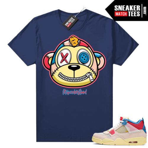 Jordan 4 Union Sneaker shirt