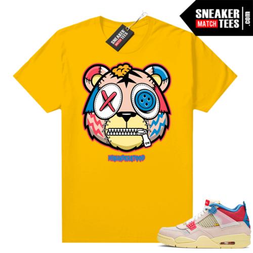 Jordan sneaker shirts Union 4s Guava Ice