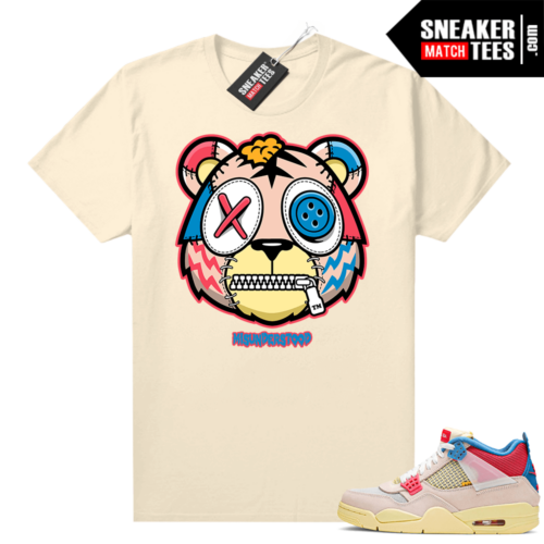 Sneaker shirts Union 4s Guava Ice
