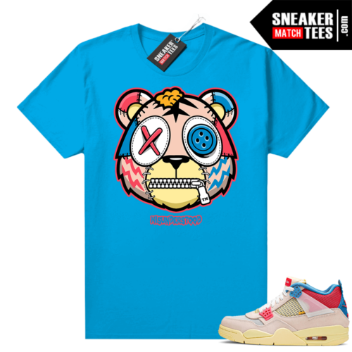 Sneaker tees Union 4s Guava Ice