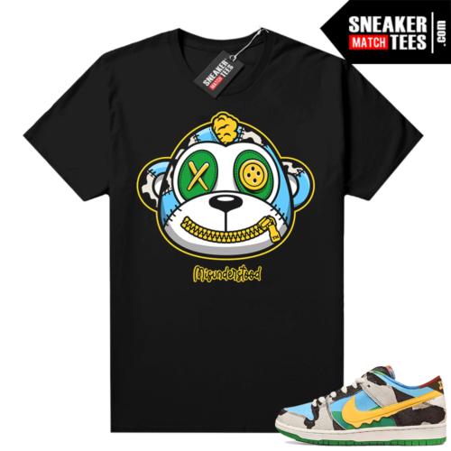 Misunderstood Monkey ™ Chunky Dunky Dunks Black Shirt