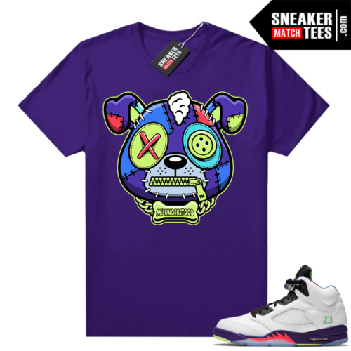 Misunderstood Puppy Alternate Bel Air 5s Match Tee Purple