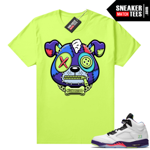 Misunderstood Puppy Alternate Bel Air 5s Match Tee Volt