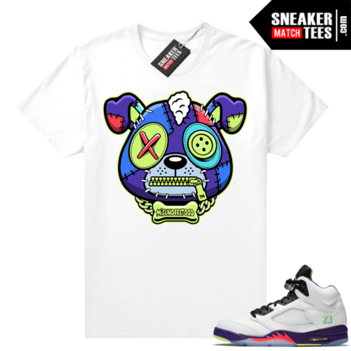Misunderstood Puppy Alternate Bel Air 5s Match Tee White