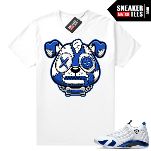 Misunderstood Puppy Hyper Royal 14s Match Tee White