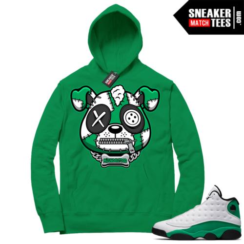 Match Lucky Green 13s Hoodie Green