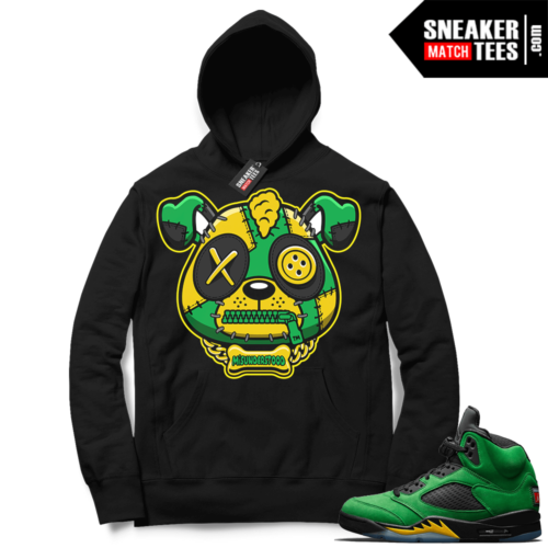Match Oregon 5s Hoodie Black