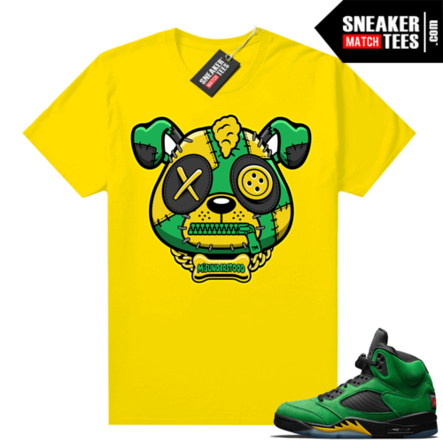 Misunderstood Puppy Oregon 5s Match Tee Yellow