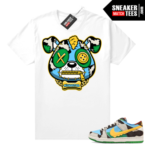 Misunderstood Puppy Chunky Dunky SB Dunks Match Tee White