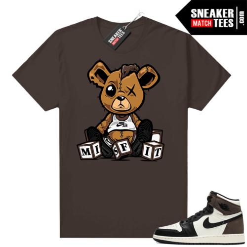Jordan 1 Mocha sneaker tee