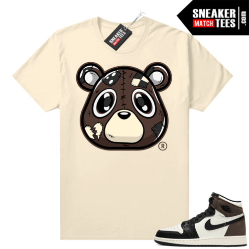 Mocha 1s sneaker tees shirts Sail Heartless Bear