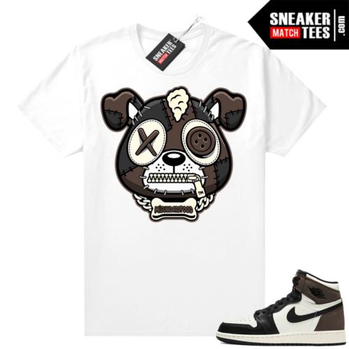 Sneaker tees Mocha 1s