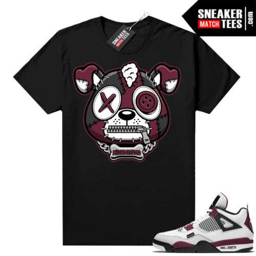 PSG 4s Sneaker Match Tees Misunderstood Puppy Black