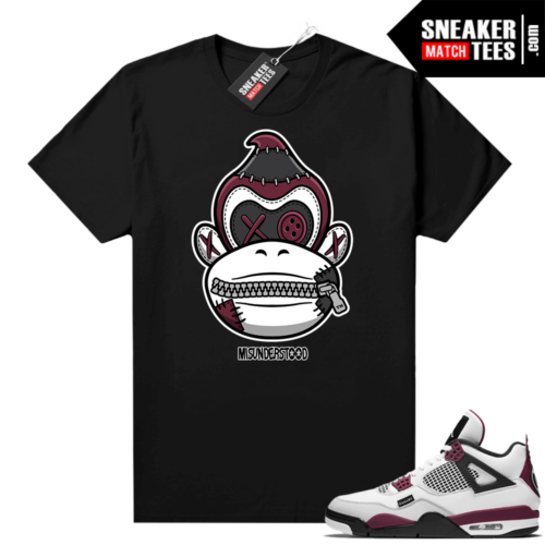 PSG 4s Sneaker Match Tees Misunderstood x Donkey Kong Black