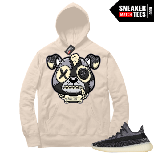 Match Yeezy 350 V2 Carbon Sneaker Match Hoodie Misunderstood Puppy Cream