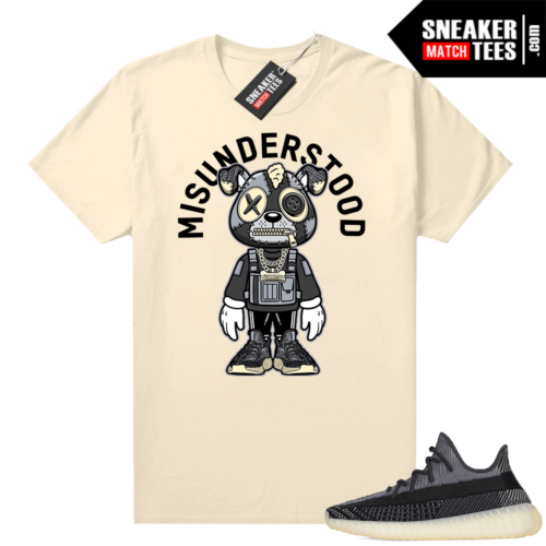 Yeezy 350 V2 Carbon matching sneaker tees