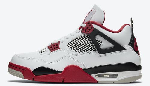 Jordan release dates Nov Jordan 4 Fire Red