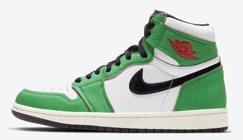 Jordan release dates Oct Jordan 1 Lucky Green