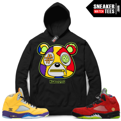 Jordan 5 What The Hoodie to match