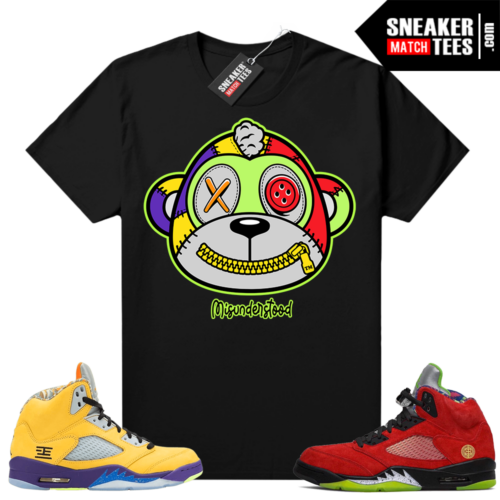Jordan 5 What The shirts