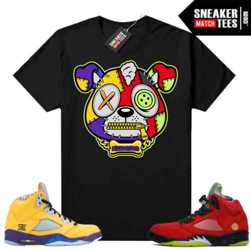 Jordan 5 What the Sneaker tees