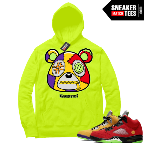 What the 5s Sneaker Hoodie Volt Misunderstood Bear