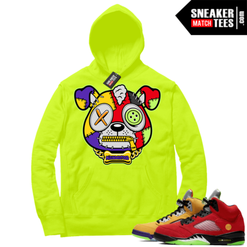 What the 5s Sneaker Hoodie Volt Misunderstood Puppy