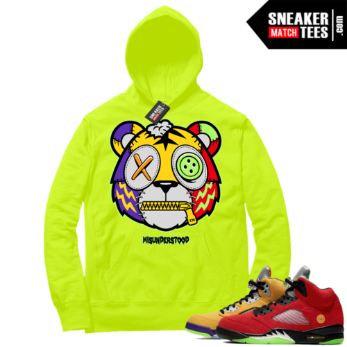 What the 5s Sneaker Hoodie Volt Misunderstood Tiger