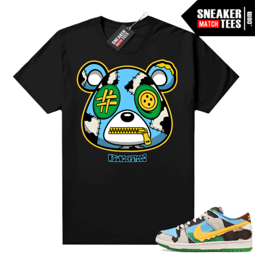Chunky Dunky Dunks Sneaker Match Tees Black Misunderstood Bear