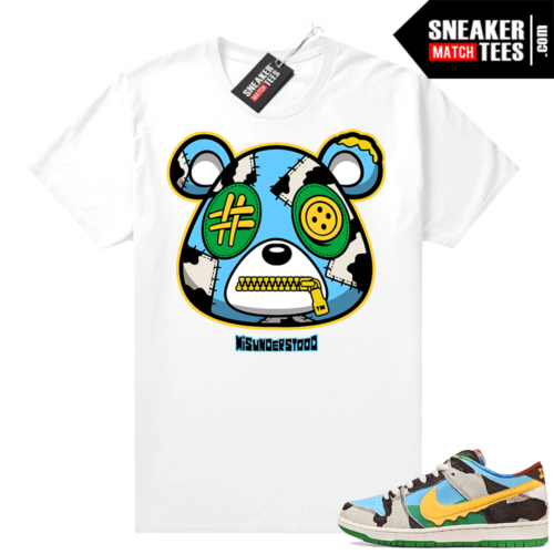 Chunky Dunky Dunks Sneaker Match Tees White Misunderstood Bear