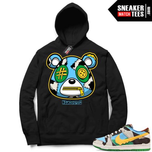 Chunky Dunky Nike SB Dunk Sneaker Match Hoodie Black Misunderstood Bear