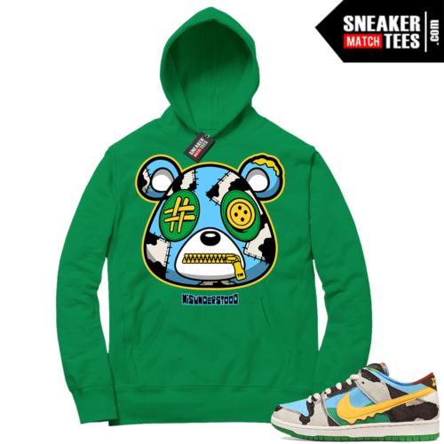 Chunky Dunky Nike SB Dunk Sneaker Match Hoodie Green Misunderstood Bear