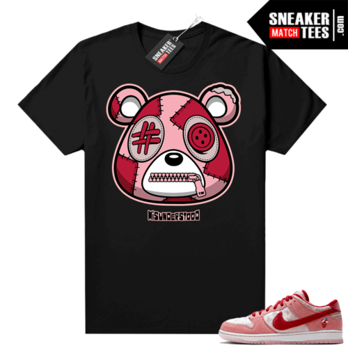 Strangelove Dunks Sneaker Match Tees Black Misunderstood Bear