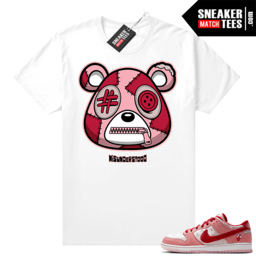 Strangelove Dunks Sneaker Match Tees White Misunderstood Bear