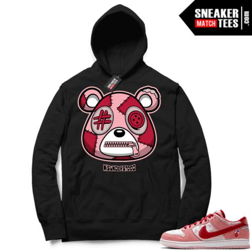 Strangelove Nike SB Dunk Sneaker Match Hoodie Black Misunderstood Bear