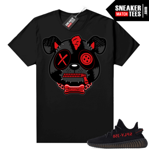 Yeezy Bred Shirt Black Misunderstood Puppy