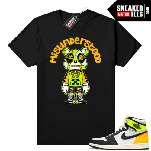Volt Gold 1s shirts to match sneakers