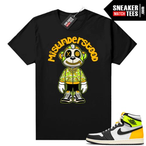 Volt Gold 1s sneaker shirts