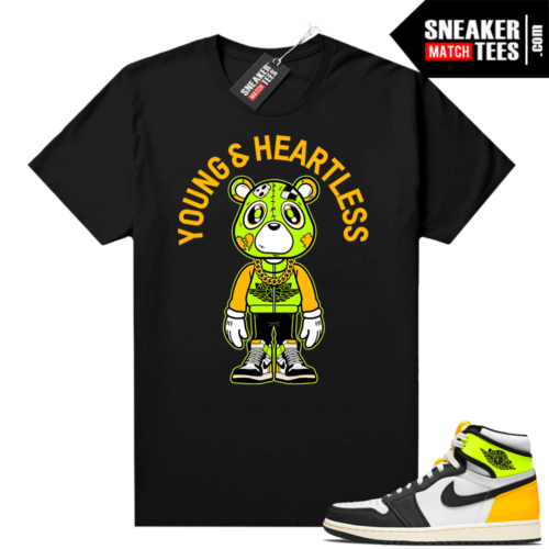 Volt Gold 1s matching shirt