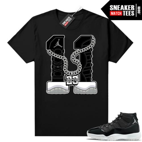 Sneaker Match Jordan 11 Jubilee tees