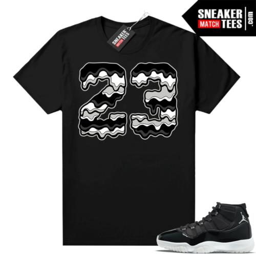 Jordan match shirts Jubilee 11s