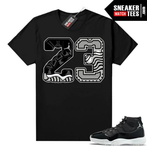 Jordan match sneaker tee Jubilee 11s