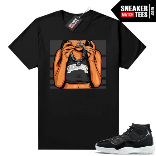 Jordan sneaker tees Jubilee 11s