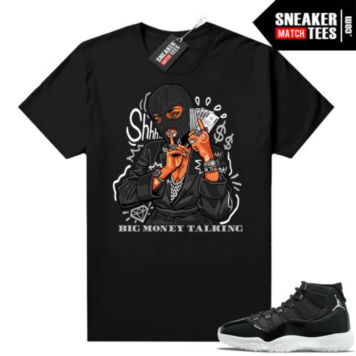 Jordan sneaker shirts Jubilee 11s