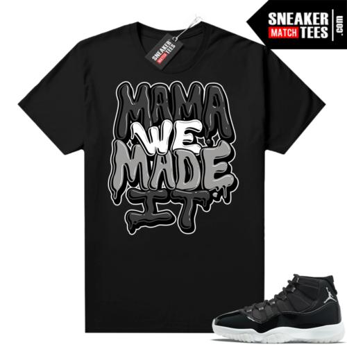 Jubilee Jordan 11 shirts