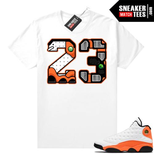 Jordan sneaker shirts Starfish 13s