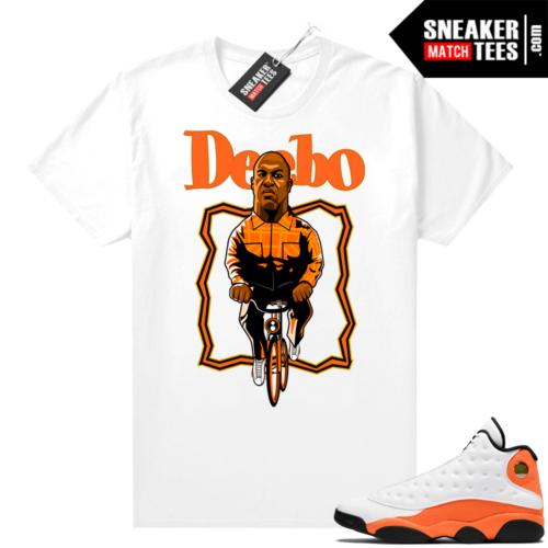 Jordan 13 Starfish Sneaker Tees Shirt Match White Deebo