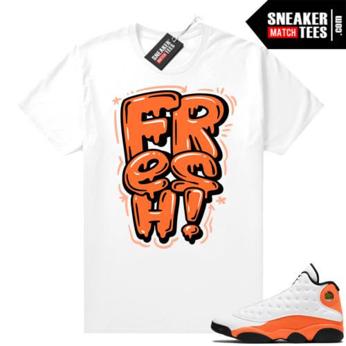 Air Jordan Starfish 13s match shirts