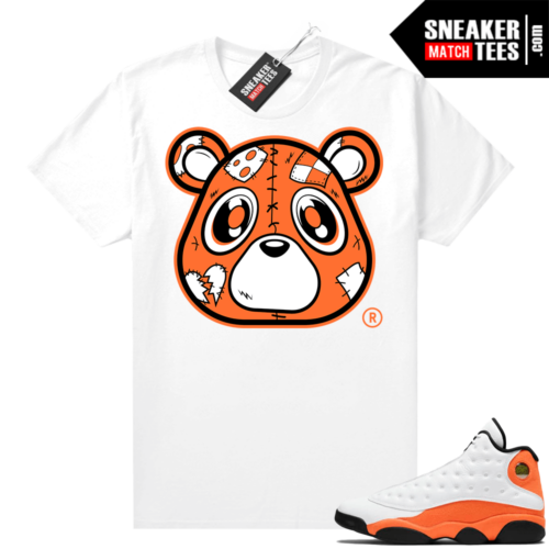 Jordan 13 Starfish Sneaker Tees Shirt Match White Heartless Bear