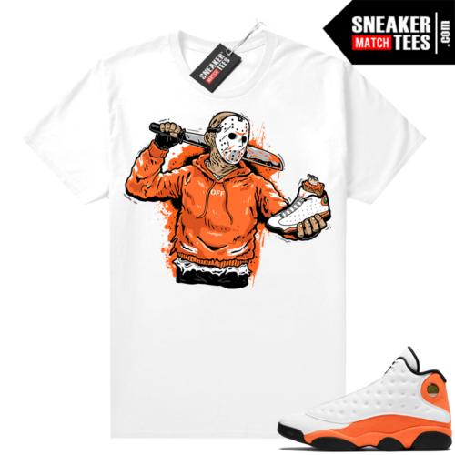 Jordan 13 Starfish Sneaker Tees Shirt Match White Jason Cop